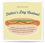 Father's Day Cookout Father's Day Online Invitations