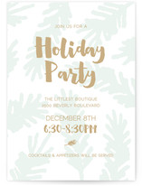 Chic Boughs Holiday Party Online Invitations