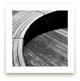 Curve Bench Geometric I by van tsao