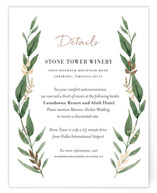 Shade Garden Foil-Pressed Direction Cards