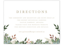 Succulent Surround Foil-Pressed Direction Cards