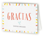 Fiesta Forty Adult Birthday Party Thank You Cards