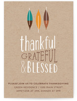 So Grateful Thanksgiving Online Invitations