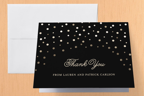 Golden Anniversary Anniversary Party Thank You Cards