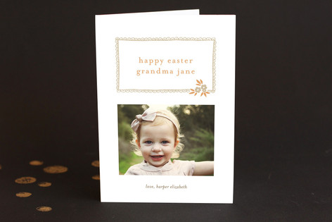 Ruffle and Petal Easter Greeting Cards