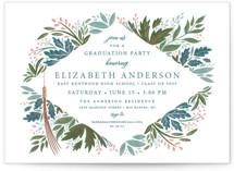 Flourish Foil-Pressed Graduation Petite Cards
