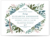 Flourish Foil-Pressed Grand Graduation Announcements