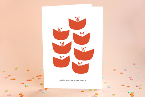 Blooms Mother's Day Greeting Cards