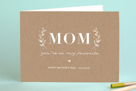 My Favorite Mother's Day Greeting Cards
