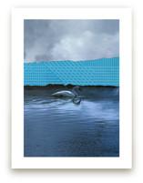 Interrupted Lake Landsc... by Allison Belolan