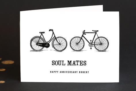 soul mates Anniversary Greeting Cards
