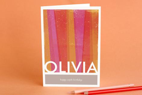 Beaming Birthday Greeting Cards