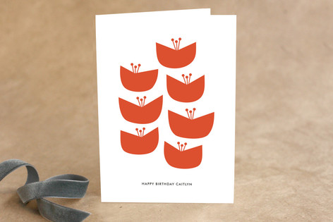 Blooms Birthday Greeting Cards