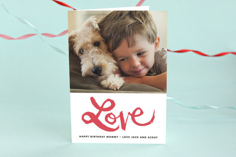 Love is in the Air Birthday Greeting Cards