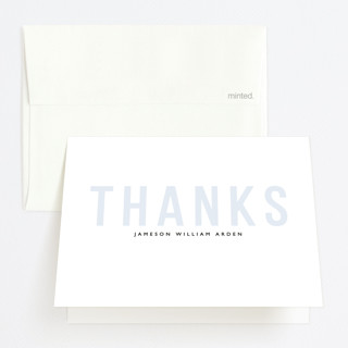 Layered Grad Party Graduation Thank You Cards