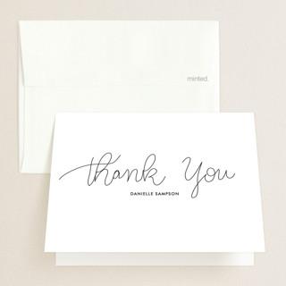Handwritten Year Graduation Thank You Cards