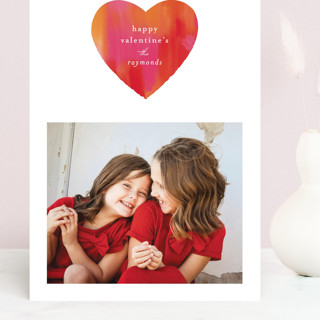 Painted Heart Grand Valentine's Day Cards