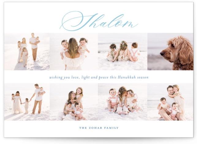 Scripted Shalom multi Hanukkah Cards