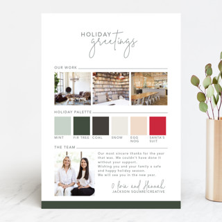 Holiday Branding Business Holiday Cards