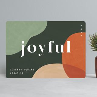 Joyful Mod Business Holiday Cards