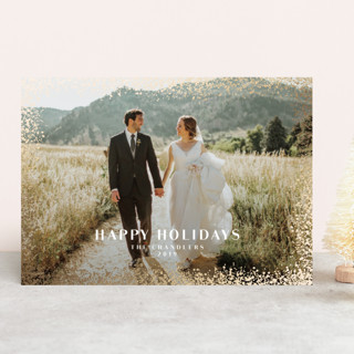 beauchamps Foil-Pressed Holiday Cards