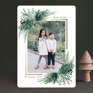 Eve Foil-Pressed Holiday Cards