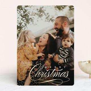 Semifreddo Foil-Pressed Holiday Cards