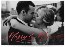 Merry & Married by Paper Dahlia
