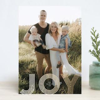 Joyline Foil-Pressed Holiday Cards
