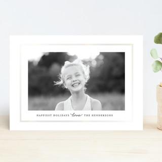 Simply Love Gloss-Press ® Holiday Cards