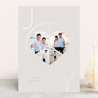 Pure Joy, Peace & Love Gloss-Press™ Holiday Cards