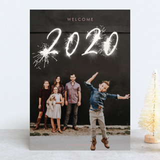 Sparklers Gloss-Press™ Holiday Cards