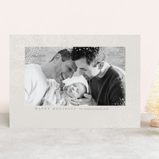 Firework Shimmer Gloss-Press™ Holiday Cards