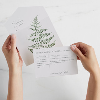 Foliage All-In-One Holiday Cards