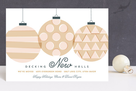 Decking New Halls Holiday Petite Cards