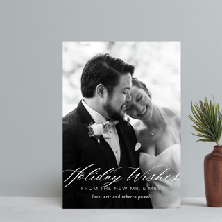 New Mr. & Mrs. Holiday Petite Cards