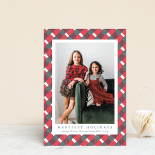 Holiday Gingham Holiday Petite Cards