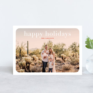 rosé overlay Holiday Petite Cards