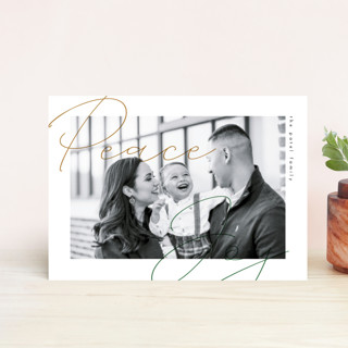 Modern Overlay Holiday Petite Cards