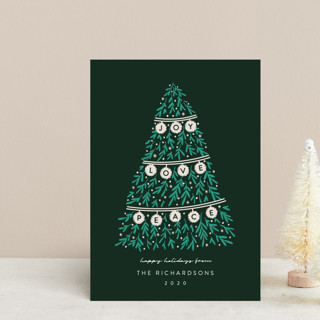 Banner Tree Holiday Petite Cards