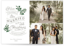 A Little Married Holiday Petite Cards