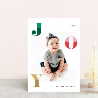 Two Toned Joy Holiday Petite Cards
