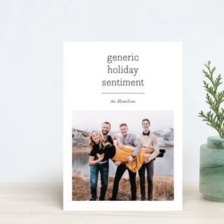 Generic Holiday Petite Cards