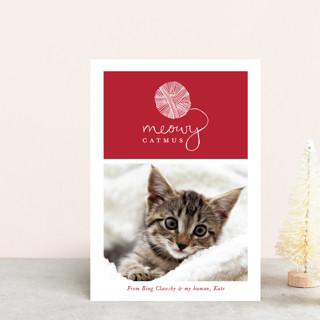 Meowy Catmus Holiday Petite Cards