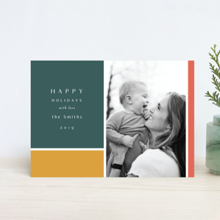 Color Block Holiday Petite Cards