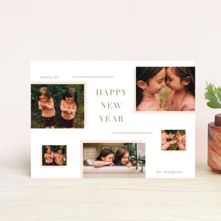 Rosy Holiday Petite Cards