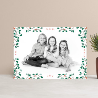 A little Mistletoe Holiday Petite Cards