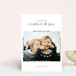 Plaid Comfort Holiday Petite Cards