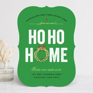 Ho Ho Home Holiday Cards