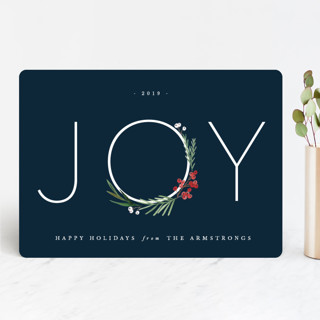 Chic Joy Holiday Cards